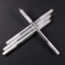 Silver Big Embo Pen / Ручная манипула для перманентного макияжа - фото 6547