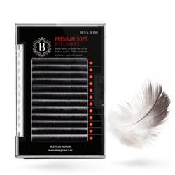 Black Berry 2D Premium Soft Peacock Lash / Черные ресницы, объем 2D - фото 6578