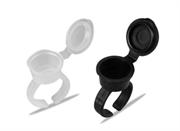 Контейнеры-кольца с колпачками для пигментов