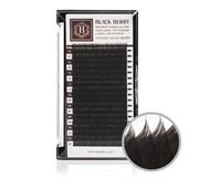 Black Berry Natural Velvet Brown / Темно-коричневые ресницы