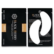 Black Berry Basic-Eyepatch / Гидрогелевые патчи для наращивания ресниц, 1 пара